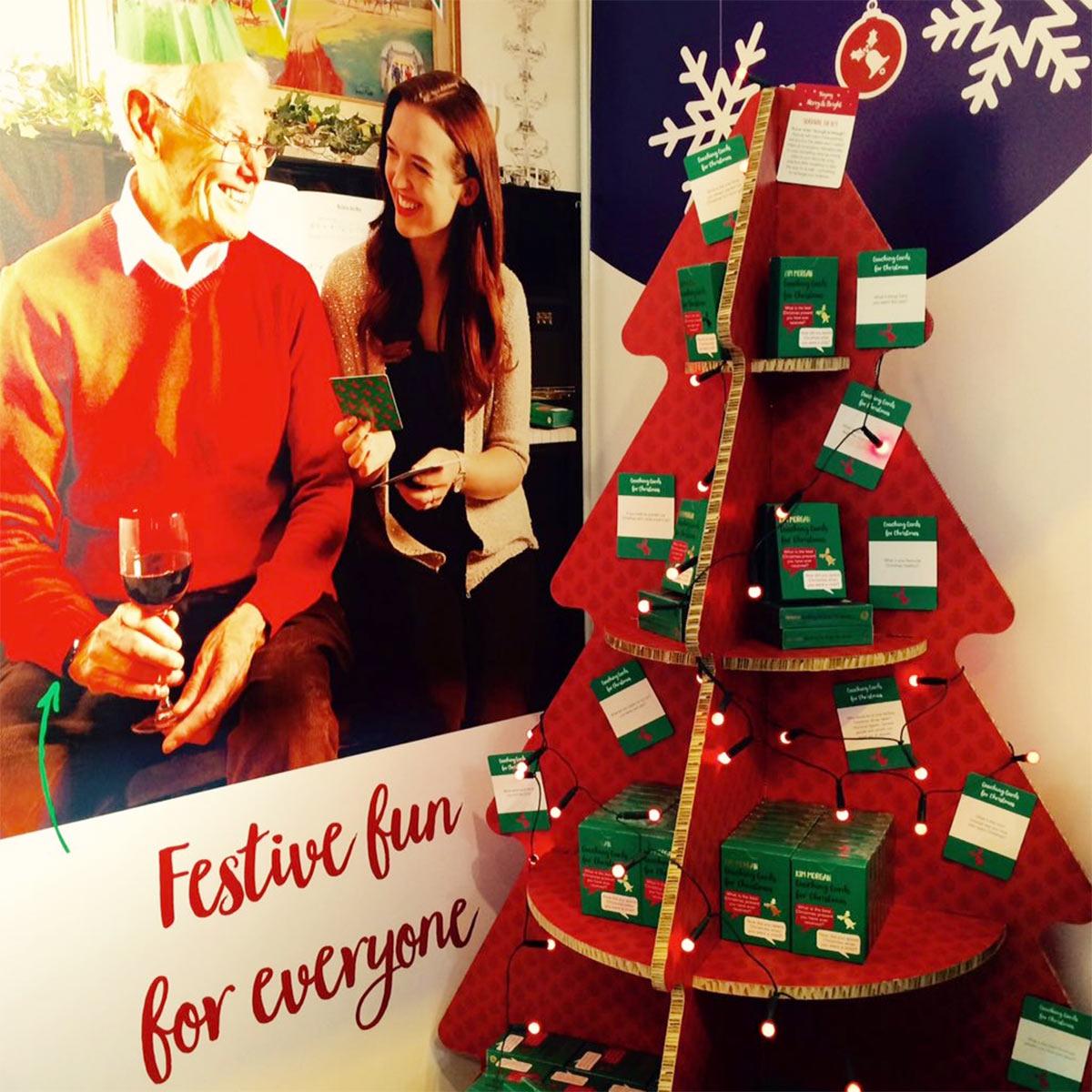 Christmas tree display design