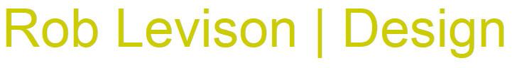 robert levison design logo