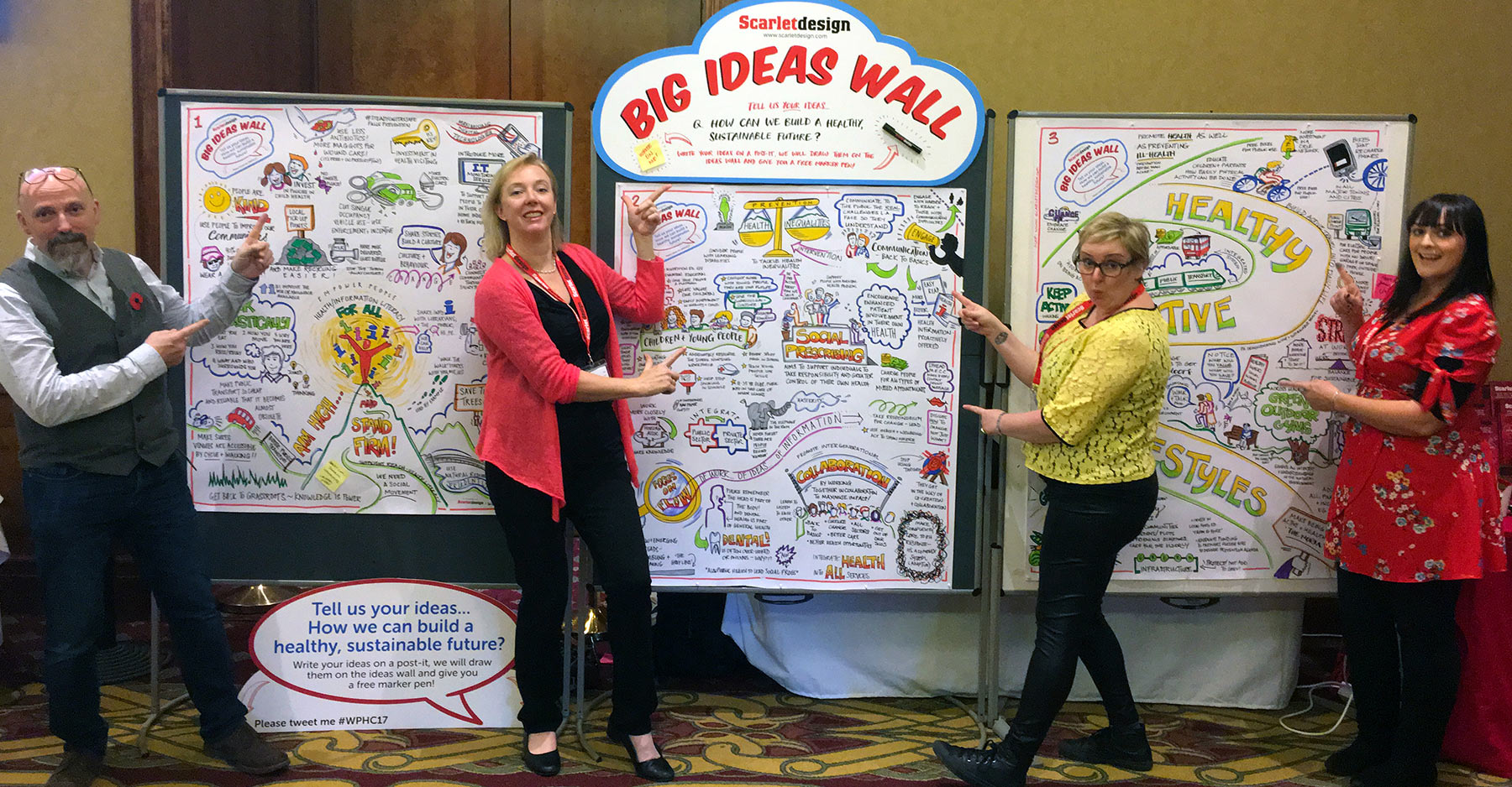 Welsh Public Health Conference 2017 Big Ideas Wall