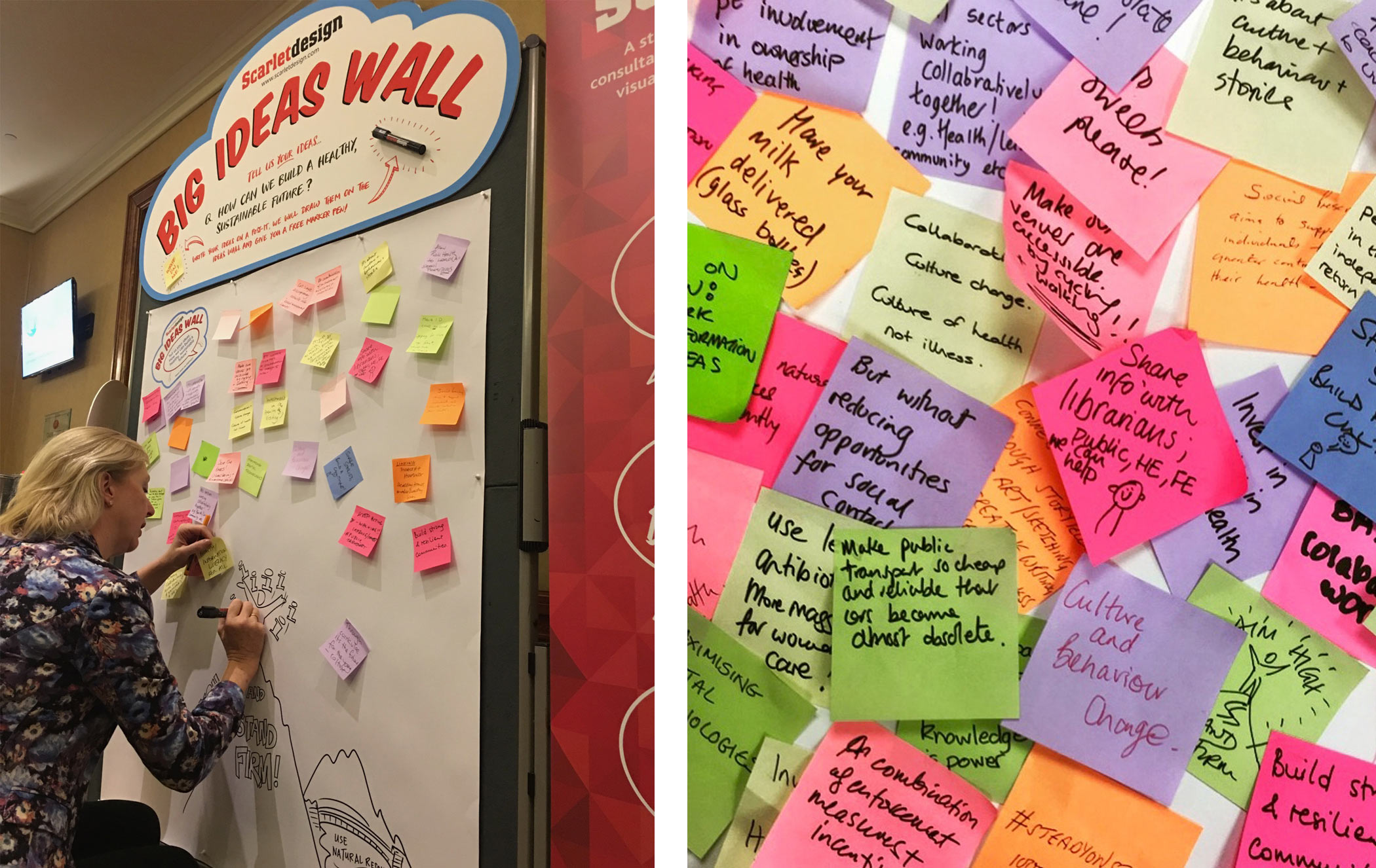big ideas wall photo
