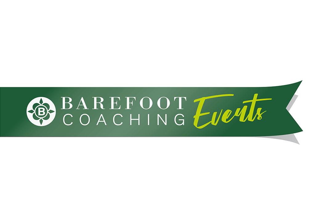 logos branding barefoot coaching events